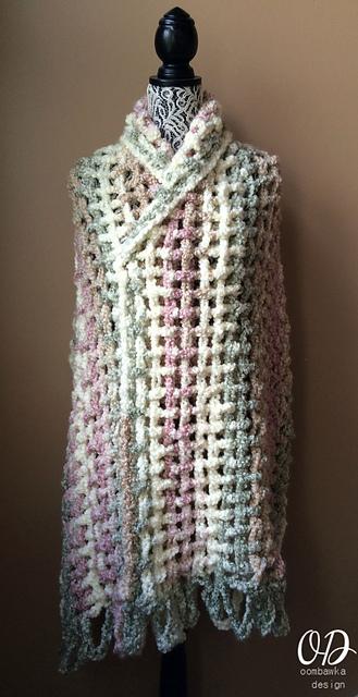 Crochet Patterns Galore Gentle Solace Prayer Shawl
