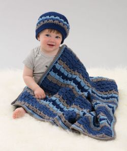 Tag-A-Long Blanket & Hat