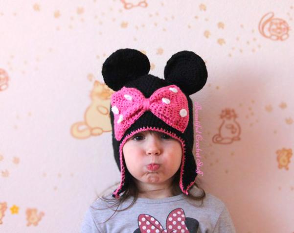 Crochet Patterns Galore - Minnie Mouse Hat 3798e51fd46