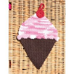 Ice Cream Dishcloth