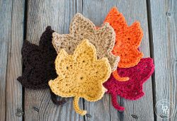 Crochet Patterns Galore - Fall Leaves
