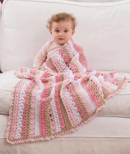 Crochet Patterns Galore Be My Baby Blanket