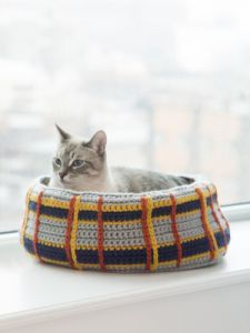 Curl-Up Kitty Cat Bed