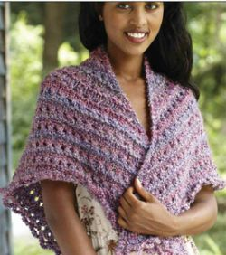 Crochet Patterns Galore - Splendid Triangle Shawl