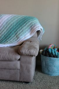Ombré Stripes Blanket