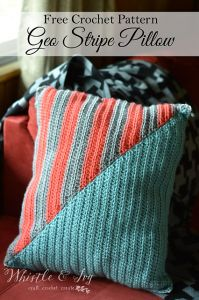 Geo Stripe Pillow