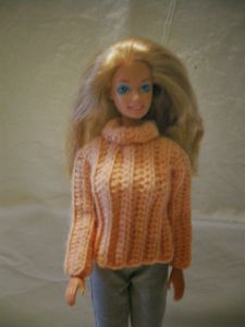 Chunky Turtleneck Sweater for Barbie