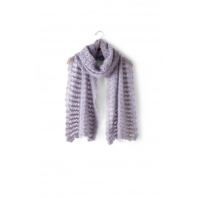 Crochet Patterns Galore Broomstick Lace Wrap