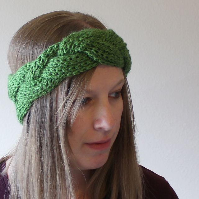 Crochet Patterns Galore Braided Headband Or Earwarmer