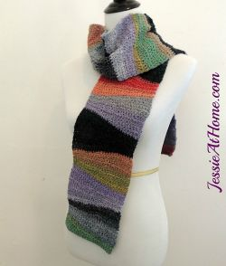 Textured Waves Scarf