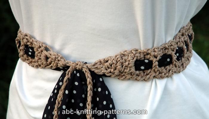Crochet Patterns Galore Gypsy Belt