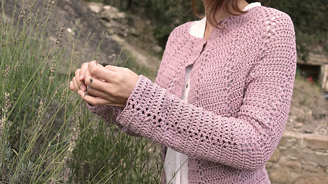 Crochet Patterns Galore Mallow Cardigan