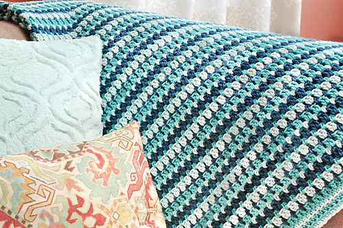 Crochet Patterns Galore - Sea Glass Afghan