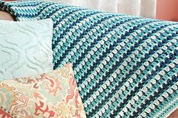 Sea Glass Afghan