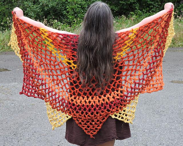 Crochet Patterns Galore Sunshine Shawl