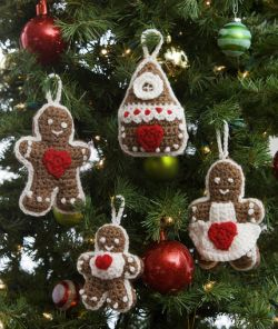 Gingerbread Tree Ornaments