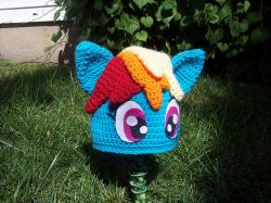 Rainbow Pony Hat