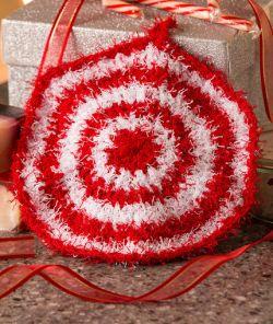 Crochet Patterns Galore Peppermint Scrubby