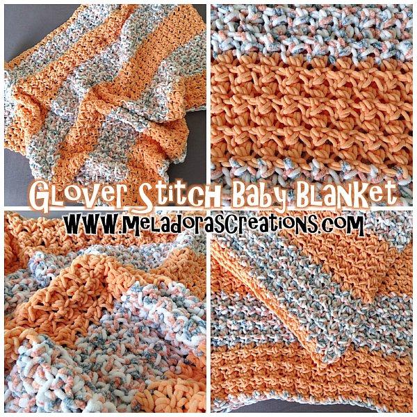 Crochet Patterns Galore Glover Stitch Baby Blanket