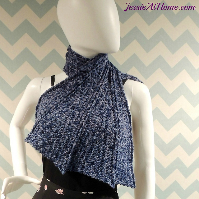 Crochet Patterns Galore Dragon Wing Scarf