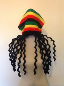 Rasta Dreadlock Hat