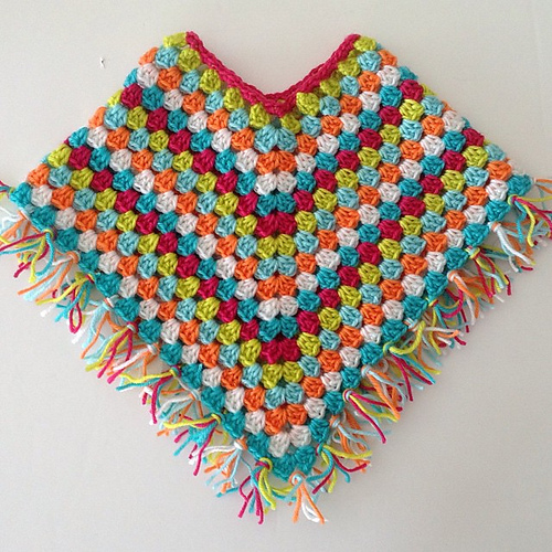 Crochet Patterns Galore Fringed Baby Poncho