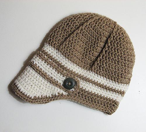 Crochet Patterns Galore Baby Newsboy Hat