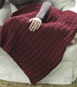 Free Crochet Pattern Lap Blanket : Crochet Patterns Galore - Crochet Lap Throw