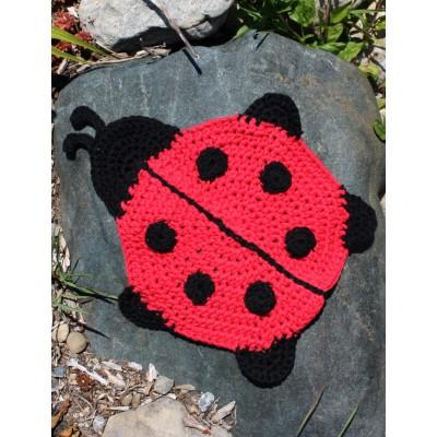 Crochet Patterns Galore Ladybug Dishcloth