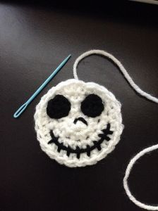 Jack Skellington Applique