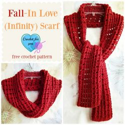 Fall-In Love (Infinity) Scarf