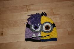 Half and Half Minion Hat