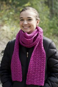 A Walk In The Heather Scarf