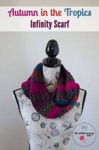 Autumn in the Tropics Infinity Scarf