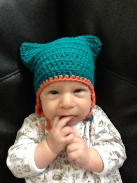 Crochet Patterns Galore Kitty Ear Hat