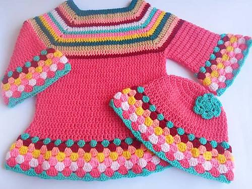 Crochet Patterns Galore Girl S Sweater