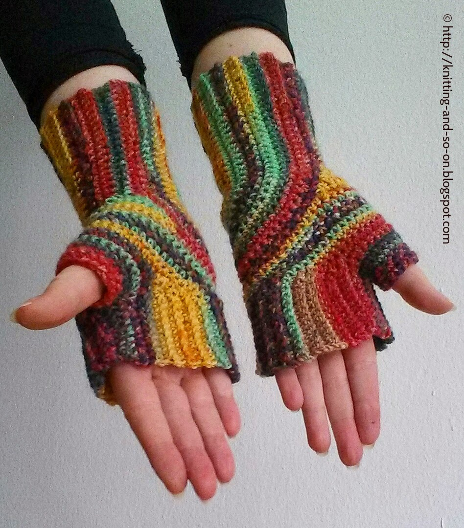 Crochet Patterns Galore - U-Turn Mitts