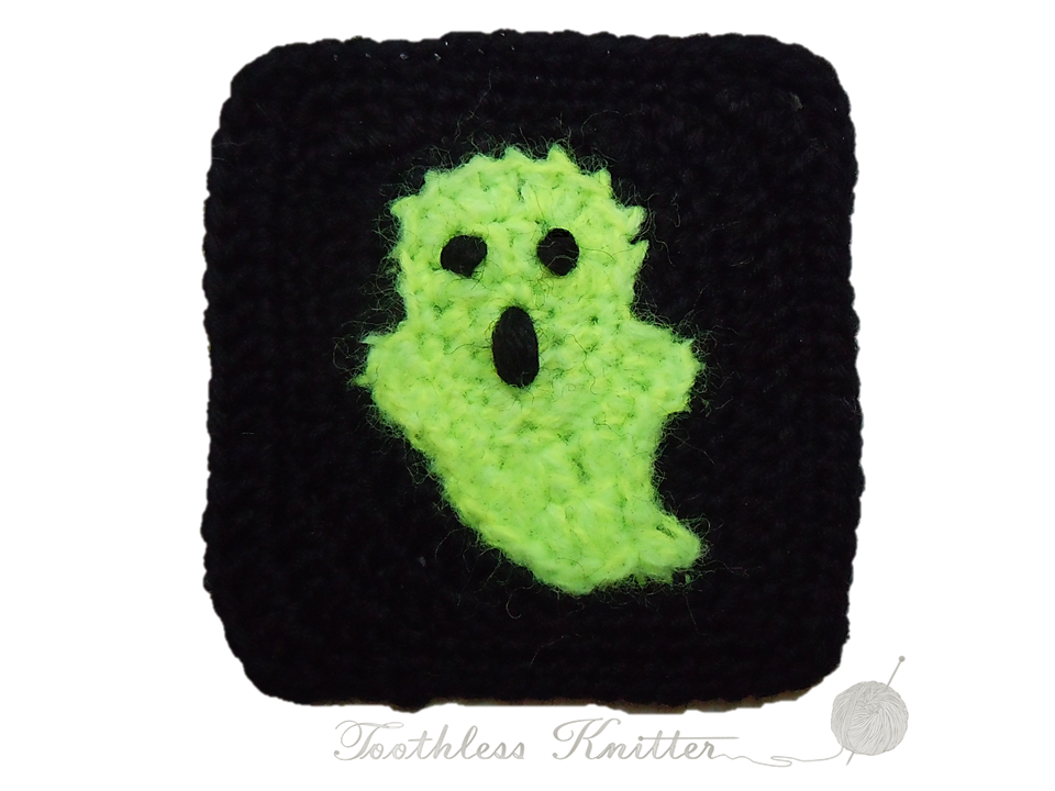 Crochet Patterns Galore Ghost Granny Square