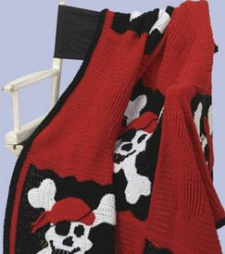 Crochet Patterns Galore Pirate Throw