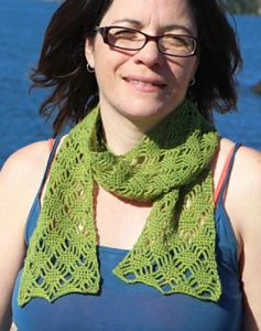 Spider Lattice Scarf