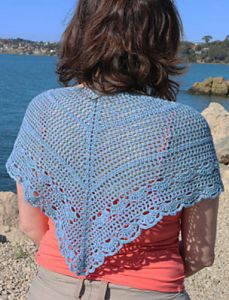Seaside Shawlette