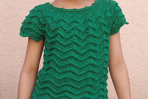 Crochet Patterns Galore - Rheema Blouse