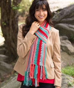Bright Stripes Scarf