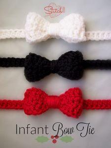 Crochet Patterns Galore Bow Tie