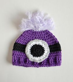 Evil Minion Inspired Baby Hat