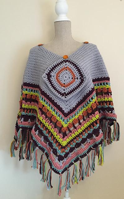 Crochet Patterns Galore Poncho Blanket