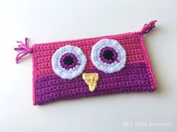 Owl Pencil Bag
