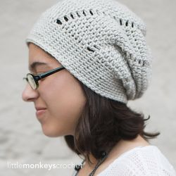 Snowcapped Slouch Hat