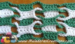 Double Weave and Link Stitch