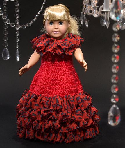 Crochet Patterns Galore Debutante Doll Dress